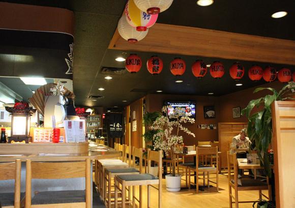 Huku-ya Sushi at Lougheed Mall