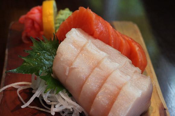 Sashimi at Sushi Garden