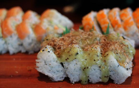 Island Roll at Sushi Garden