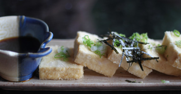 Agadashi Tofu at Genji Sushi