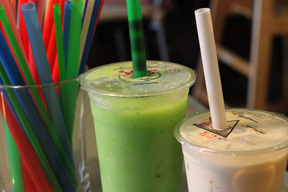 The selection of Bubble Tea is bigger than the selection of Sushi