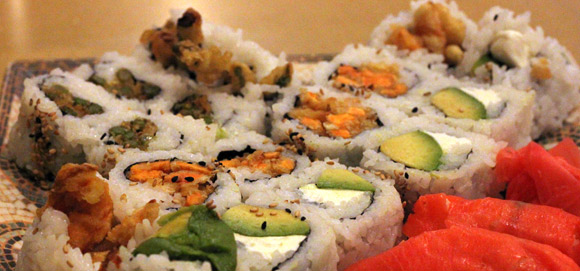 Vegetarian Roll Options at Asakusa Sushi