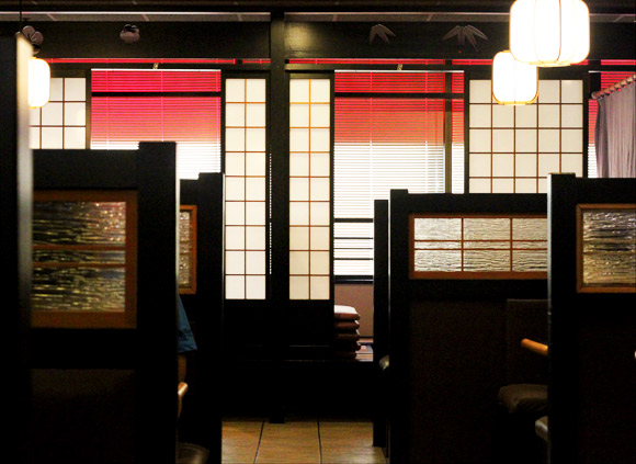 The interior of Fice on Rice