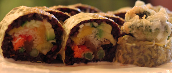 Vegevege Roll at Sushi S
