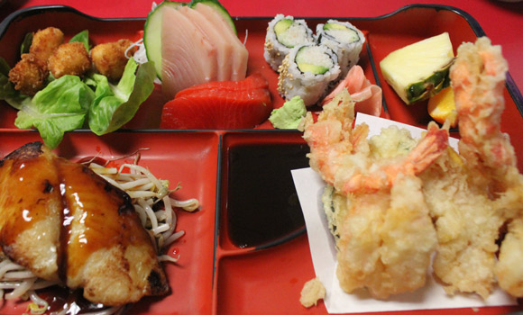 Seafood Box at Kato Sushi