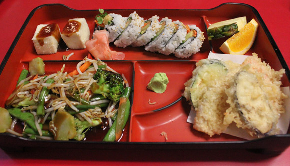 Vegetable Box at Kato Sushi
