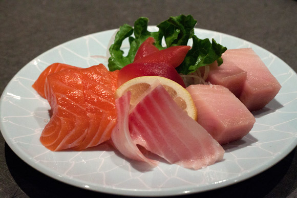 Sashimi at Kawawa Japanese Restaurant