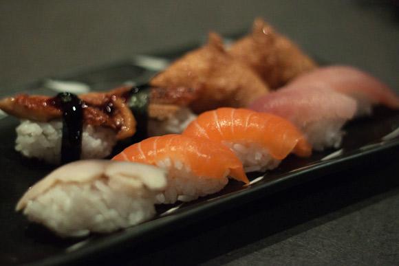 Nigiri at Kawawa Japanese Restaurant