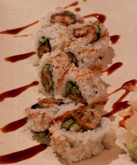 Unagi Roll at Sui Sha Ya