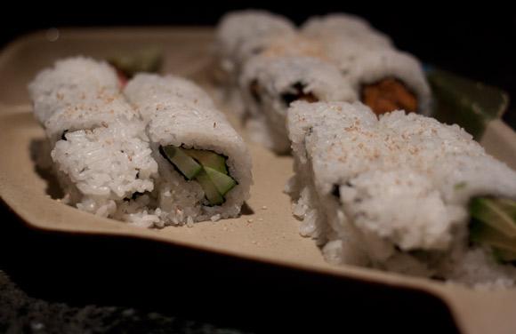 Vegetarian Rolls at Little Tokyo's Sushi