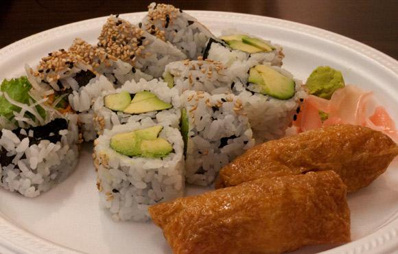 Vegetable Combo at Hong Sushi