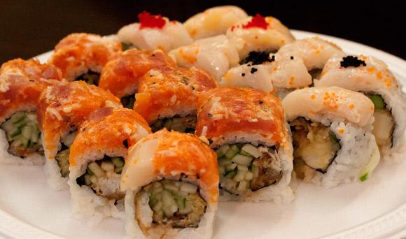 Special Rolls at Hong Sushi