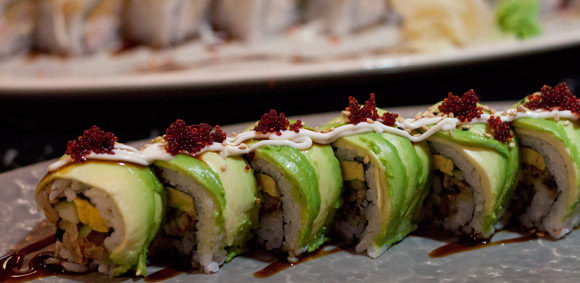 Dragon Roll at Black Dragon Sushi