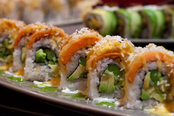 Garden Roll at Black Dragon Sushi