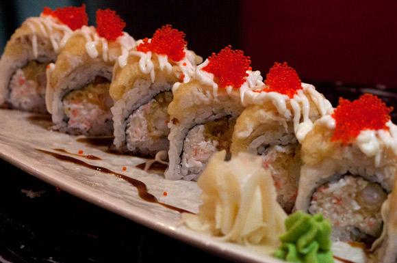 Sunshine Roll at Black Dragon Sushi