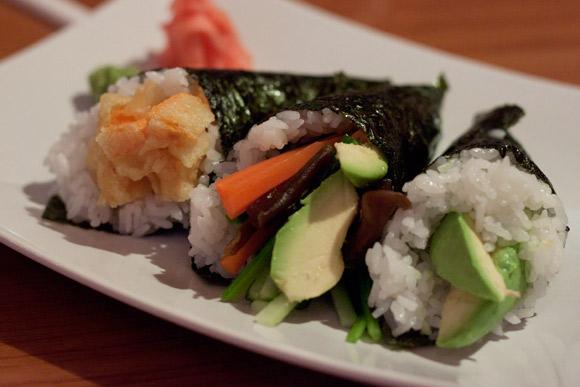 Vegetarian Cone Combo at Osaka Island