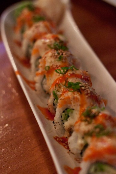 Vulcano Roll at Sushimoto
