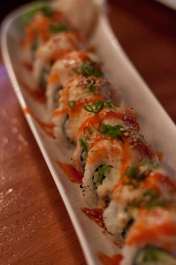 Volcano Roll at Sushi Moto