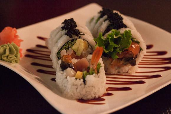 Yo House Roll at Yo Sushi
