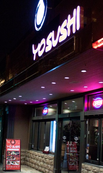 Yo Sushi on Hastings Street