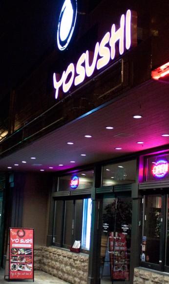 Yo Sushi on Hastings Street