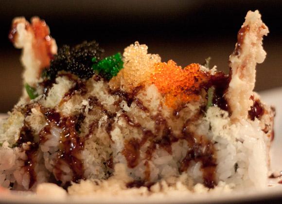 Crunchy Roll at Yo Sushi