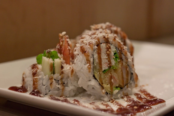 Dynamite Roll at Town Centre Sushi