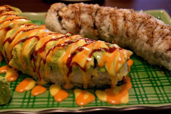 Special Rolls at Sushi Kaku