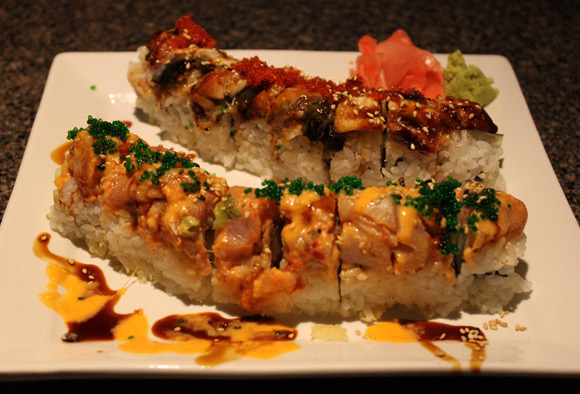Special Rolls at Miki Sushi