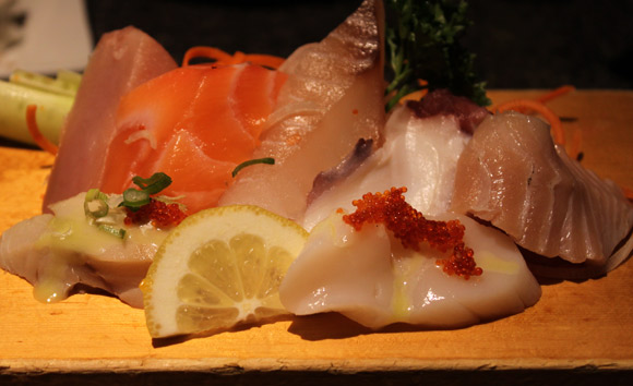 Appetizer Sashimi at Miki Sushi