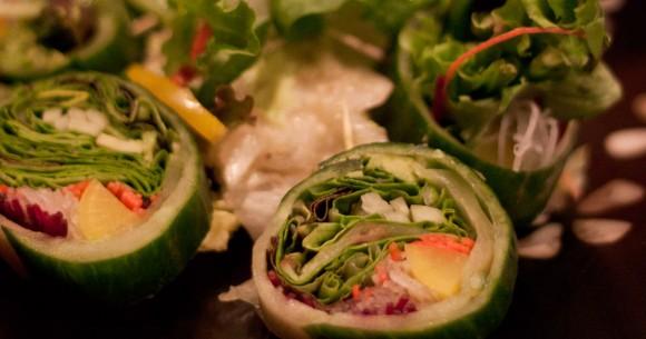 Veggie Flower Roll at Sushi Gen