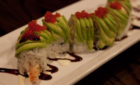 Caterpillar Roll at Sushi Gen