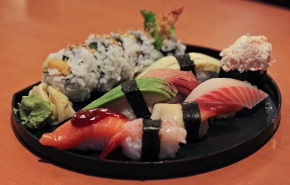 The Deluxe Sushi Combo at Take Sushi