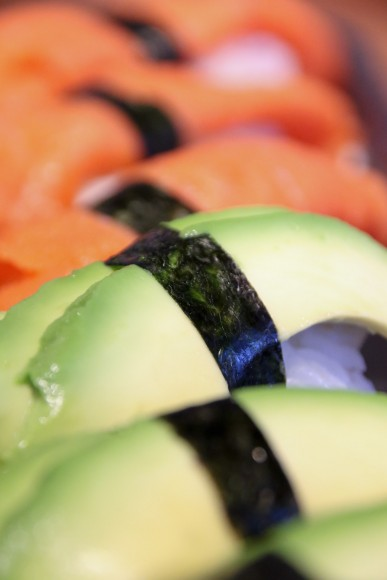 Nigiri at Sushi Uomo