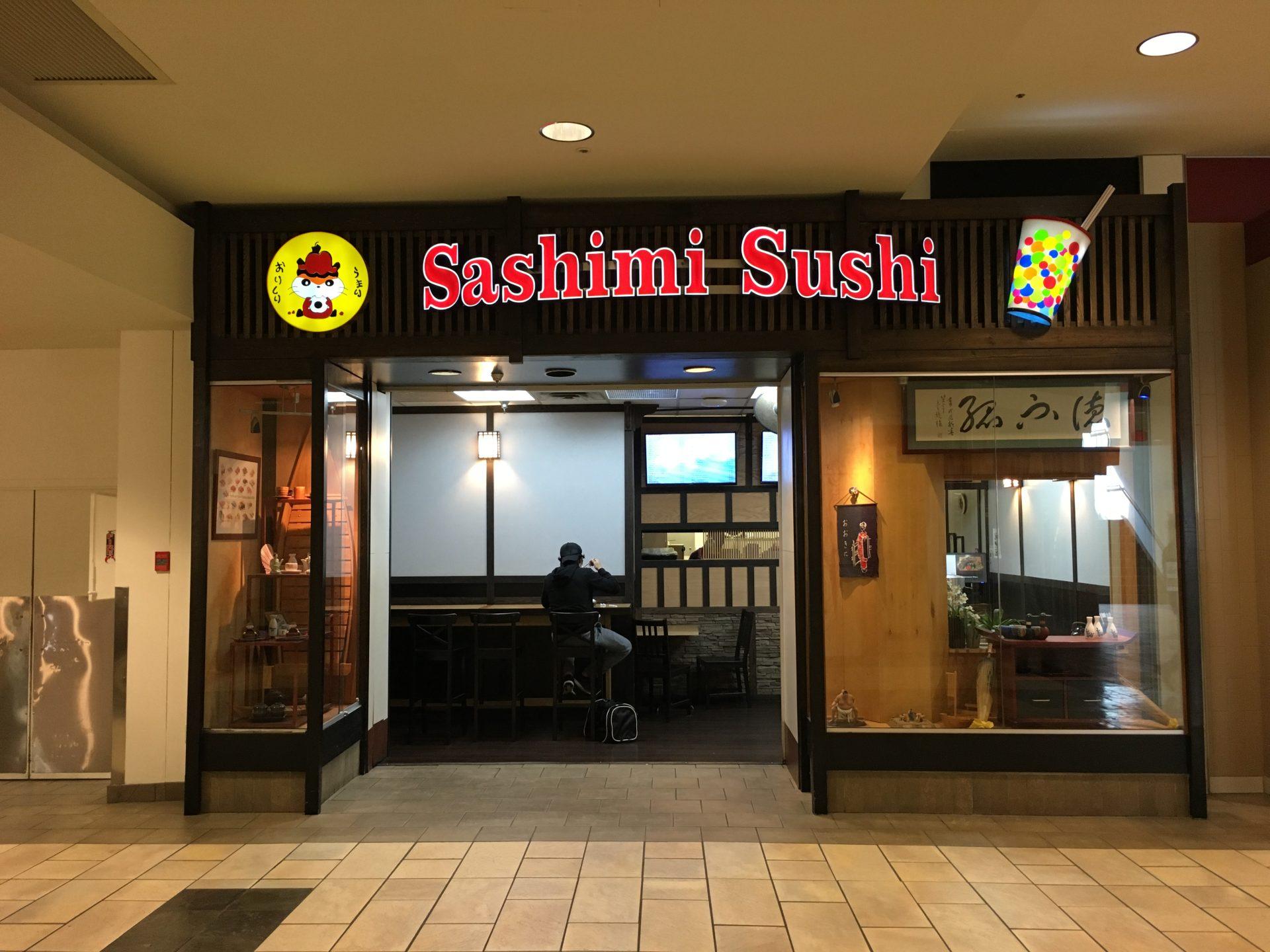 Sashimi Sushi in Lougheed Mall