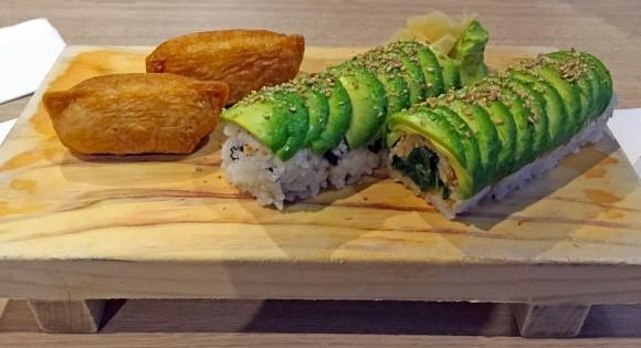 Jayden Roll and Inari at Japolo Sushi